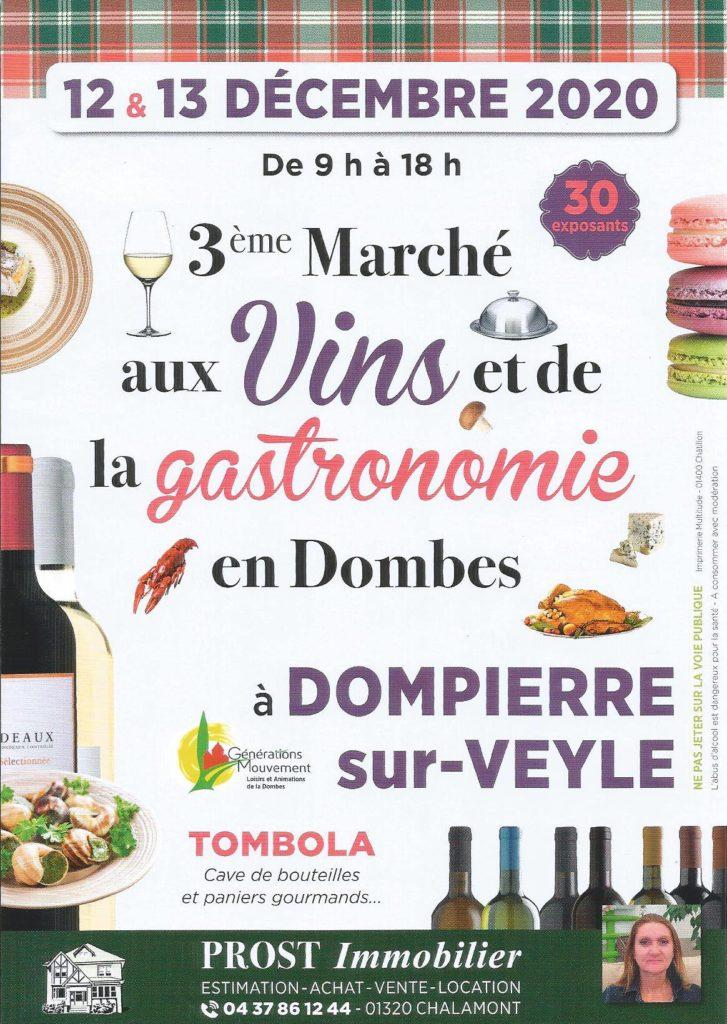 3eme salon du vin et de la gastronomie en dombes, Dompierre sur Veyle